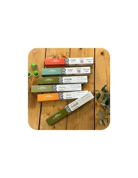 Café capsules compatibles Nespresso®